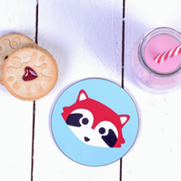 Coaster - Red Panda Drinks Coaster - Gifts For Animal Lovers
