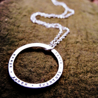 Fat Moon necklace