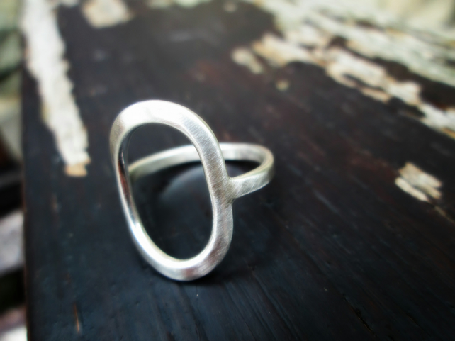 'Stepping Stones' - Sterling Silver Ring