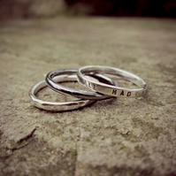 Ring Stack (Sterling Silver)