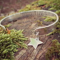 THE BRIGHTEST STAR - Mother's Day gift, jewellery, star, Sterling Silver, words