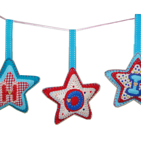 Personalised Star Hanging Decoration