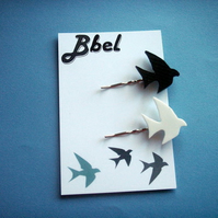 Bird Hairclips
