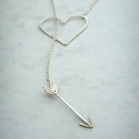 Silver Heartbreaker Necklace