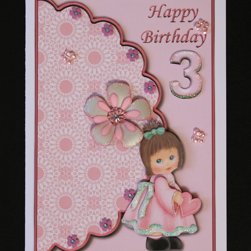 Birthday Cards Ideas Birthday Card Little Girl