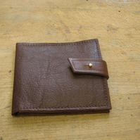 Golden brown leather wallet