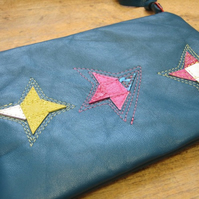 Twinkle, twinkle little star leather purse