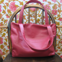 SALE Dark pink bucket bag with The Nutcracker lining. Was £150, now