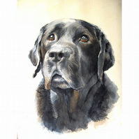 Commission a portrait Painting - Dogs