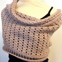 Ladies Merino Wool Shrug