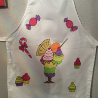 Hand painted children's aprons