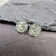 Sterling Silver Sparkle Studs