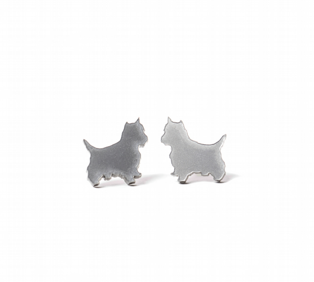 Acrylic Toto Stud Earrings