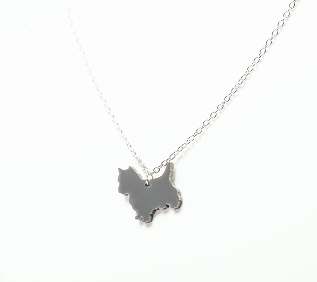 Acrylic Toto Necklace