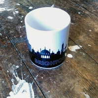 Brighton Mug with 6 Coaster Set