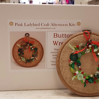 Craft Afternoon Kits - Button Wreath