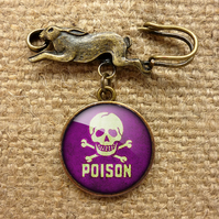 Poison No.2 Hare Pin Brooch (DJ09)