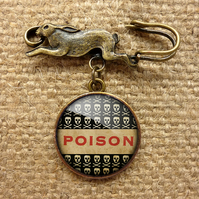 Poison No.1 Hare Pin Brooch (DJ06)