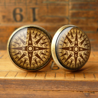 Compass No.1 Cufflinks (DJ03)