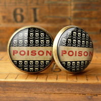 Poison No.1 Cufflinks (DJ06)
