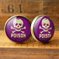 Poison No.2 Cufflinks (DJ09)