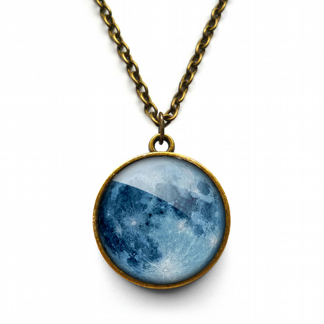 Blue Moon Necklace (ER10)