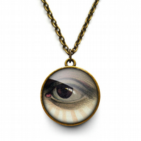 Vintage Eye Necklace (ER07)