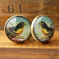 Affable Bird Cufflinks (TB03)