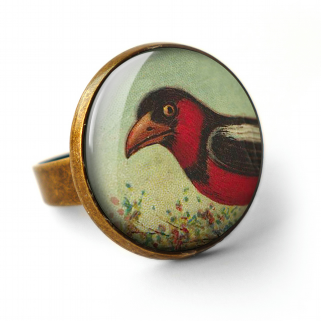 Disapproving Bird Ring (TB09)