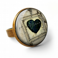 Black Heart No.1 Ring (RR04)