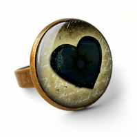 Black Heart No.2 Ring (RR10)