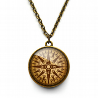 Compass No.1 Necklace (DJ03)