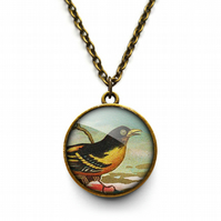 Affable Bird Necklace (TB03)
