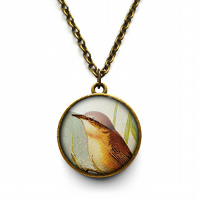 Reed Warbler Necklace (TB07)
