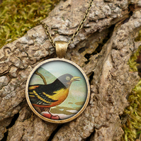 Affable Bird Large Necklace (TB03)