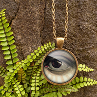 Vintage Eye Large Necklace (ER07)