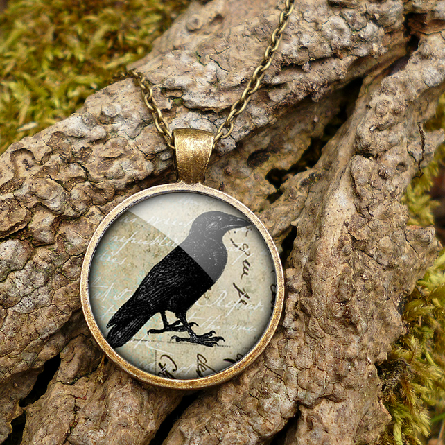 Raven No.1 Large Necklace (RR01)