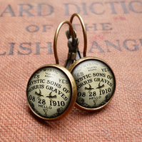 Mystic Leverback Earrings (DJ02)