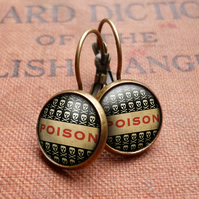 Poison No.1 Leverback Earrings (DJ06)