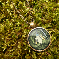 Snowdrop Large Necklace (AN05)