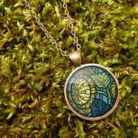 Chrysanthemum Large Necklace (AN06)