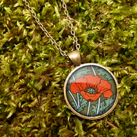 Poppy Large Necklace (AN07)