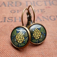Arrowhead Leverback Earrings (AN08)