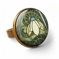 Snowdrop Ring (AN05)