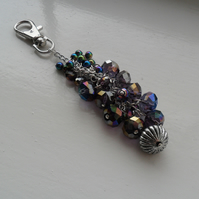 Purple Bag Charm