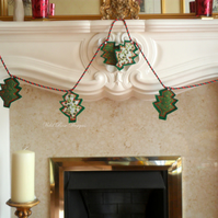 Christmas tree garland. Sale item!