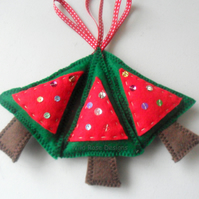 Christmas tree hanging decorations