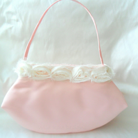 Pink satin Bridesmaids  Bag