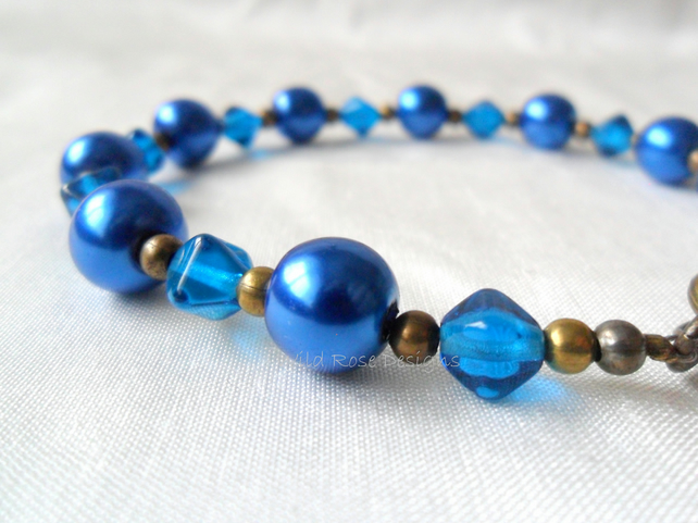Midnight Blue bracelet.  Sale item, final reduction!