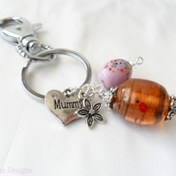 'Mummy'  Key Ring - Sale item!